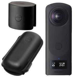 RICOH リコー デジタルカメラ THETA Z1 (レンズキャップ&セミハードケースセット) (...