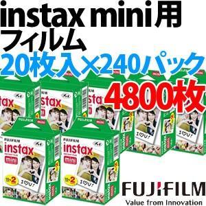 (送料無料)富士フィルム チェキフィルム instax mini 2パック品 WW2(20枚入り)×240個セット (4800枚入)(メール便不可) homeshop