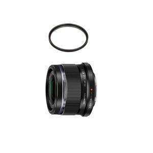 (レンズ保護フィルター付)オリンパス 大口径標準レンズ M.ZUIKO DIGITAL 25mm F...