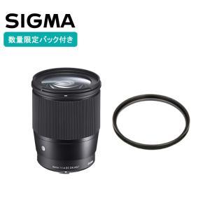 シグマ 16mm F1.4 DC DN Contemporary マイクロフォーサーズ レンズフィル...