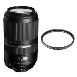 タムロン 望遠ズームレンズ SP 70-300mm F/4-5.6 Di VC USD キヤノン用(A030E)&レンズ保護フィルター(メール便不可)|homeshop