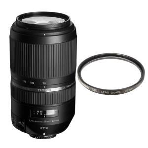 タムロン 望遠ズームレンズ SP 70-300mm F/4-5.6 Di VC USD ニコン用(A030N)&レンズ保護フィルター(メール便不可)|homeshop