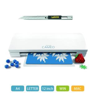 ※細工カッタープレゼント中 グラフテック カッティングマシン silhouette CAMEO3 シルエットカメオ3 (GRAPHTEC) (メール便不可)|homeshop