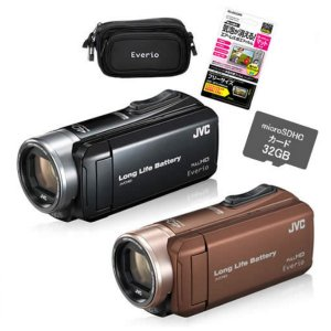 【4点セット】JVCケンウッド GZ-L500 ハイビジョンメモリームービー [Everio/エブリオ][ビデオカメラ][カラー選択式]【メール便不可】 homeshop