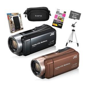 (6点セット)JVCケンウッド GZ-L500 ハイビジョンメモリームービー (Everio/エブリオ)(ビデオカメラ)(カラー選択式)(メール便不可) homeshop