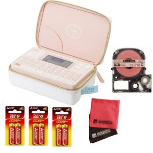 (りぼんテープ&電池セット)キングジム ラベルライター テプラPRO SR-GL2 ガーリーテプラ (メール便不可)|homeshop