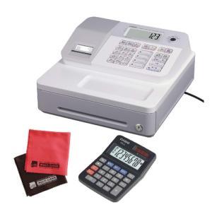 (ミニ電卓付)カシオ SE-G1-WE ホワイト 電子レジスター 4部門 サーマルプリンタ LCD表示 CASIO (メール便不可)|homeshop