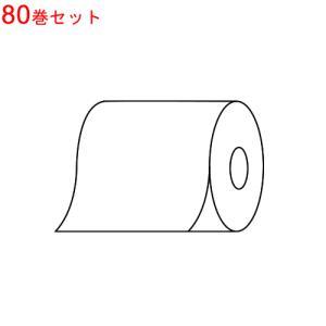 (お買得な80巻セット)(高品質日本製日本製 感熱レジロール紙(58mm×70mm×12mm)×80巻【メール便不可)|homeshop