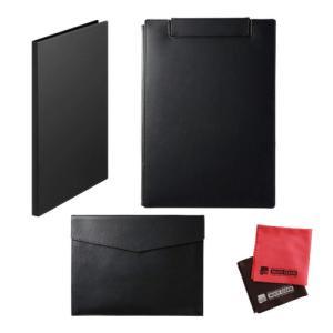 (6月7日発売予定)(レザフェスセット)キングジム レザフェスU 黒 クリアーファイル20ポケット クリップボード ドキュメントケース 1931LU 1932LU 1997LU|homeshop
