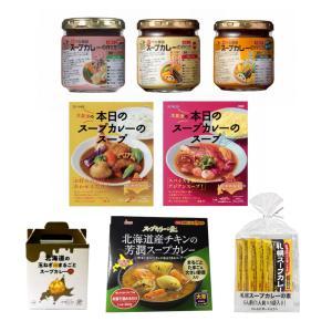 (北海道スープカレーセット)ベル食品・ハウス・ソラチ・ウエシマ 札幌スープカレーの素やスープカリーの...