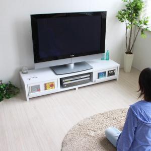 テレビ台 ローボード 150cm幅 テレビボー...の詳細画像3