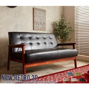 NEW RETRO オリジナル 2人掛けソファ ia005|homestyle