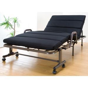 リクライニングベッド 折りたたみベッド モコモコ コンパクト 94.5cm幅 sa563 TS-511 homestyle