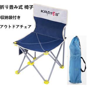 折り畳み椅子 アウトドアチェア 収納袋付き 釣り お花見 キャンプ 携帯イス