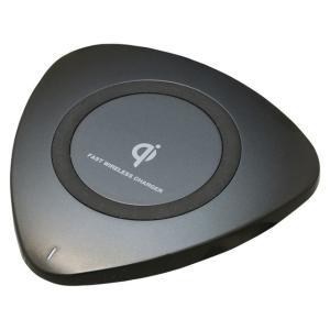 置くだけ簡単充電パッド Qiワイヤレス充電パッド02 10W BK BQIMSA02100BK|hometec
