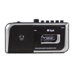 AM/FM ラジオ・カセットプレーヤーレコーダー ワイドFM対応 Touch|hometec