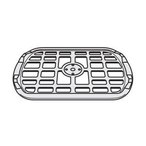 パナソニック Panasonic 電子レンジ ターンテーブル(丸皿) の受け台(あみ)A201F-1E60|hometec