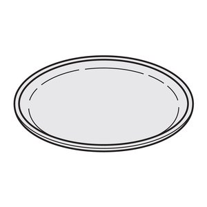 パナソニック オーブンレンジ 丸皿 A0601-11X0|hometec