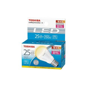 LED電球 東芝 E-CORE イー・コア 電球色 25W相当 250lm E17口金 小形電球形 LDA4L-H-E17/S