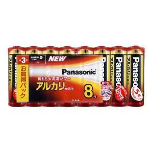 卸:ケース販売(30個入) パナソニック 乾電池 アルカリ 単3形 8本パック LR6XJ/8SW|hometec