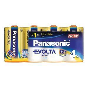 卸:ケース販売(30個入) パナソニック 乾電池 エボルタ 単1 4本パック LR20EJ/4SW|hometec