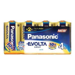 卸:ケース販売(30個入) パナソニック 乾電池 エボルタ 単2 4本パック LR14EJ/4SW|hometec