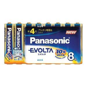 卸:ケース販売(30個入) パナソニック 乾電池 エボルタ 単4 8本パック LR03EJ/8SW|hometec