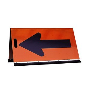 高輝度矢印板500タイプアルミ取っ手付き 矢印看板 方向指示板 矢印板 矢印 工事現場 工事看板 工事用看板 看板 工事 工事用 高輝度|hometokufuretama