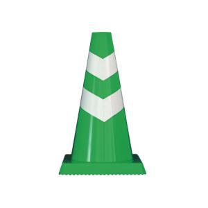緑/白 10本ラーコーンミニタイプ スコッチコーン パイロン 三角コーン ポスト 交通安全 カラーコーン コーン ミニコーン ミニ ロードコーン ラバーコーン|hometokufuretama