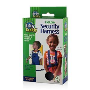 Baby Buddy ベビーバディ Deluxe Security Harness 3WAY デラックス迷子防止ハーネス Black ブラック|homeyayafutenn