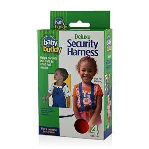 Baby Buddy ベビーバディ Deluxe Security Harness 3WAY デラックス迷子防止ハーネス Red レッド|homeyayafutenn