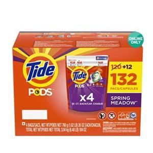 TIDE タイドポッズ スプリング メドウ 洗濯洗剤 132個入り|homeyayafutenn