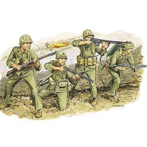 プラッツ 1/35 第二次世界大戦 アメリカ海兵隊 硫黄島 1945 プラモデル DR6038|homeyayafutenn