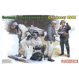 プラッツ 1/35 第二次世界大戦 ドイツ軍 装甲擲弾兵 冬季装備 チェルカッシー 1944 プラモデル DR6490|homeyayafutenn