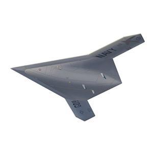プラッツ 1/72 アメリカ海軍 無人爆撃機 X-47B飛行状態(スタンド付属) プラモデル AC-18|homeyayafutenn