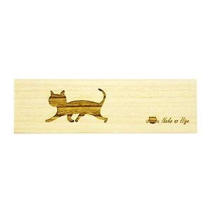 猫専用桐製猫のひげケース ロング (長尾)