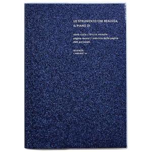 ラ・アプス 手帳 2020年 B6 ウィークリー マットグリッター ネイビー AG-2702 (2019年 11月始まり) homeyayafutenn