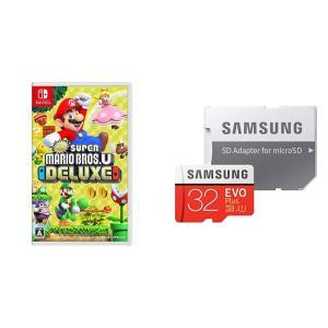 New スーパーマリオブラザーズ U デラックス -Switch + Samsung microSD...