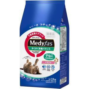 メディファス 子ねこ 12か月まで チキン味 1.5kg(250gx6)|homeyayafutenn