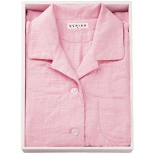 内野 パジャマ ピンク 個装サイズ:28×41×6cm|homeyayafutenn