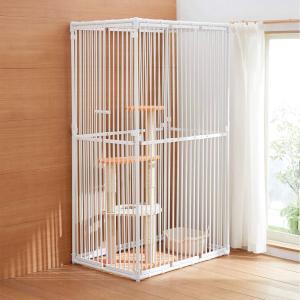 ねこっとハウスIII (キャットタワーがすっぽり入る 大型 猫ゲージ)')|homeyayafutenn