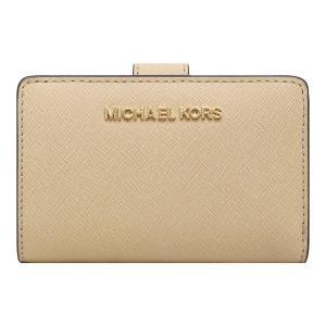 【ポイント2倍】マイケルコース MICHAEL KORS 財布 二つ折り財布 35F7GTVF2L BISQUE ウォレット アウトレット レディース|hommage