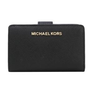 マイケル コース 財布 MICHAEL KORS 二つ折り財布 レザー ミディアム ジップ ウォレット 35F7GTVF2L JET SET TRAVEL WALLET
