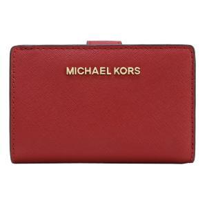 【ポイント2倍】マイケルコース MICHAEL KORS 財布 二つ折り財布 35F7GTVF2L SCARLET ウォレット アウトレット レディース|hommage