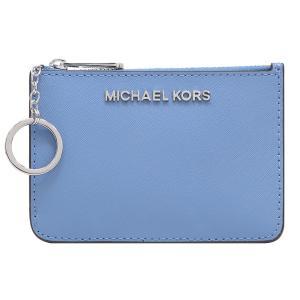 【ポイント10倍】マイケルコース MICHAEL KORS 小物 コインケース パスケース 35F7STVU1L FRENCH BLUE アウトレットレディース|hommage