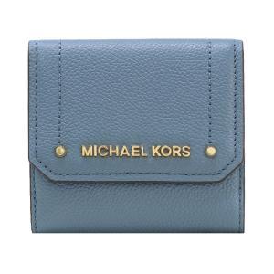 【ポイント2%】マイケルコース MICHAEL KORS 財布 三つ折り財布 35F8GYEF2L DENIM ウォレット アウトレット レディース|hommage