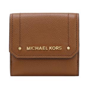 【ポイント2%】マイケルコース MICHAEL KORS 財布 三つ折り財布 35F8GYEF2L LUGGAGE ウォレット アウトレット レディース|hommage