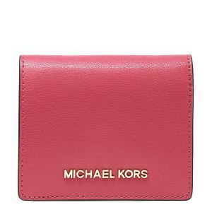 【ポイント2倍】マイケルコース MICHAEL KORS 財布 二つ折り財布 小物 カードケース 35H7GTVD2L LIPSTICK ウォレット アウトレット レディース|hommage