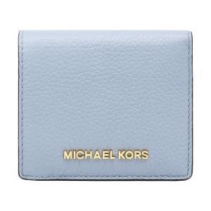 【ポイント2倍】マイケルコース MICHAEL KORS 財布 二つ折り財布 35H8GTVD2L PALE BLUE ウォレット アウトレット レディース|hommage