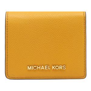 【ポイント2倍】マイケルコース MICHAEL KORS 財布 二つ折り財布 35H8GTVD8T MARIGOLD ウォレット アウトレット レディース|hommage